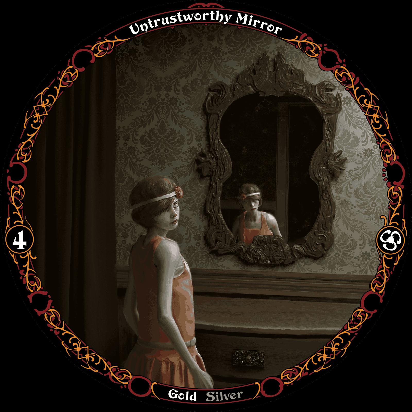 Untrustworthy Mirror sooth card